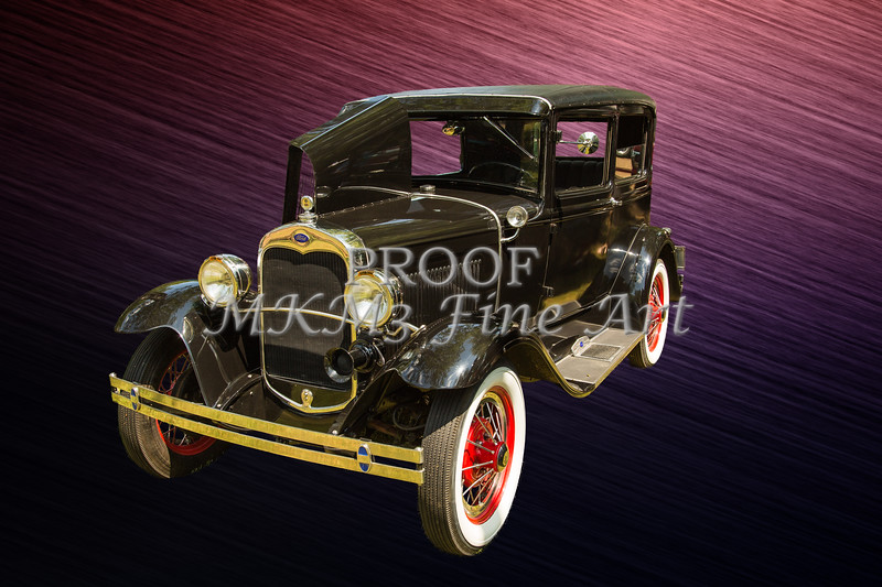 Canvas Print 1930 Ford Model A Sedan 5538,06