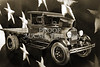 Vintage Car 1930 Ford Stakebed Truck 5512.52