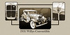 1931 Willys Convertible Car Antique Vintage Automobile Photographs Fine Art Prints 4055.02