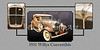 1931 Willys Convertible Car Antique Vintage Automobile Photographs Fine Art Prints 4054.02
