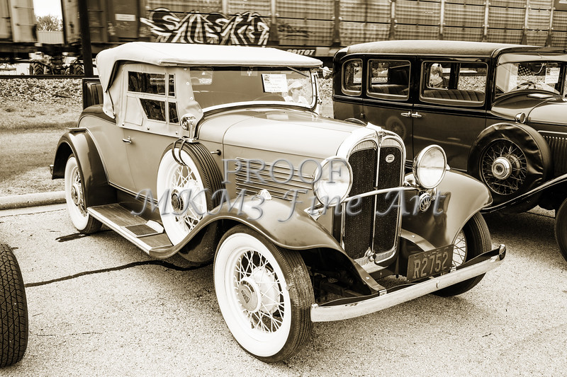 1931 Willys Convertible Car Antique Vintage Automobile Photographs Fine Art Prints 4077.02