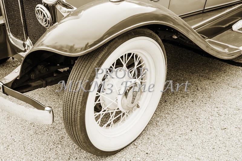 1931 Willys Convertible Car Antique Vintage Automobile Photographs Fine Art Prints 4074.02