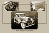 1931 Willys Convertible Car Antique Vintage Automobile Photographs Fine Art Prints 4053.02