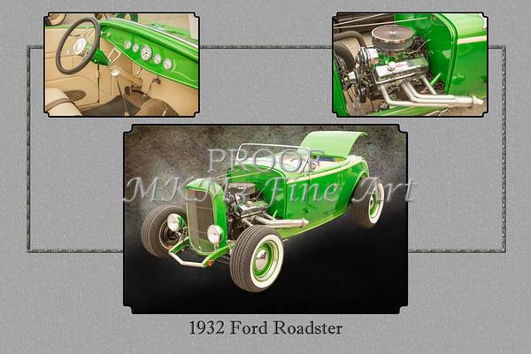 1932 Ford Roadster Color Photographs and Fine Art Prints 008.02