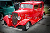 1933 Chevrolet Chevy Sedan Classic Car in Color 3165.02