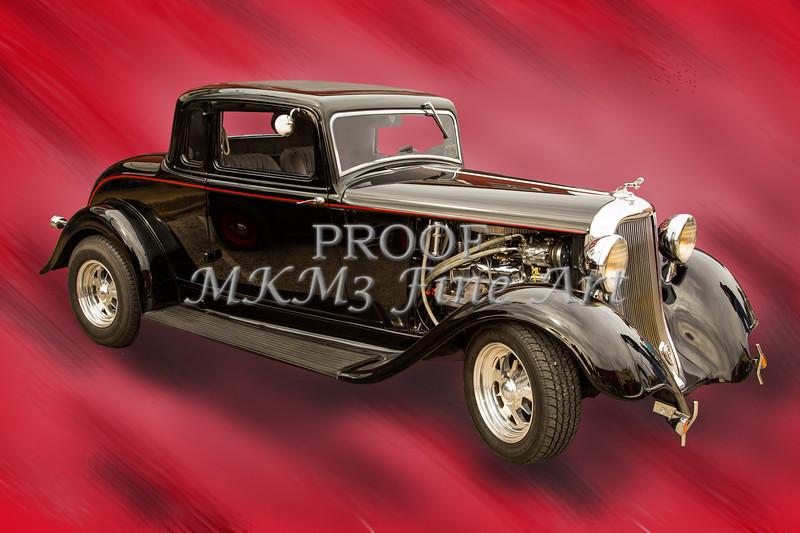 1933 Dodge Vintage Classic Car Automobile Photograph Fine Art Print Collectable 4114.02