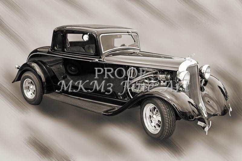 1933 Dodge Vintage Classic Car Automobile Photograph Fine Art Print Collectable 4115.01
