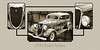 1934 Ford Sedan Antique Vintage Photograph Fine Art Print Collectables 203