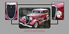 1934 Ford Sedan Antique Vintage Photograph Fine Art Print Collectables 202