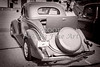 1936 Ford Classic Car or Automobile Back End in Sepia  3119.01