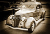 1936 Ford Classic Car or Automobile in Sepia  3115.01