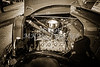 1937 Ford Pickup Truck Classic Car Engine Photograph in Sepia 3311.01