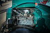 1937 Ford Pickup Truck Classic Car Engine Photograph in Color 3311.02