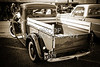 1937 Ford Pickup Truck Bed Classic Car Photograph in Sepia 3312.01