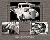 1939 Chevrolet Pickup Vintage Car Fine Art Prints Photograph Antique 3555.01