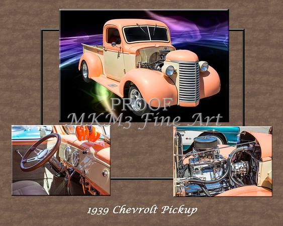 1939 Chevrolet Pickup Vintage Car Fine Art Prints Photograph Antique 3555.02