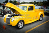 1941 Ford Pickup Truck Classic Automobile in Color Yellow  3079.02