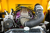 1941 Ford Pickup Engine Motor  Classic Automobile in Color 3082.02