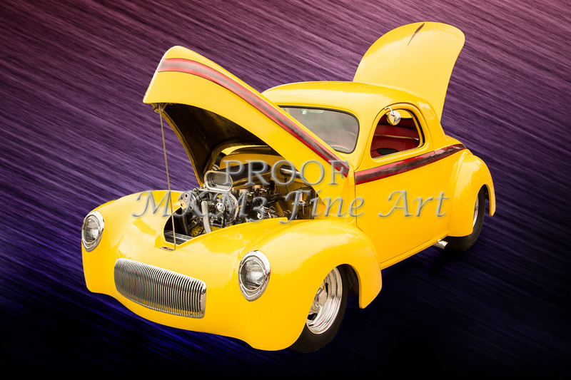 1941 Willys Coope Classic Car Photograph Color 1213.02