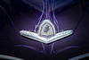 1948 Plymouth Classic Car Emblem and Color of Purple 3384.02