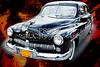 1949 Mercury Classic Car in Color Painting 3194.02