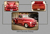 1954 Chevrolet Pickup Classic Car Photograph 6733.02