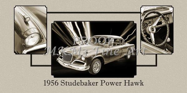 1956 Studebaker Power Hawk 5543.51
