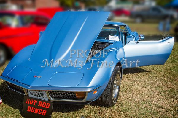 1972 Chevrolet Corvette Stingray in Blue Color 3030.02