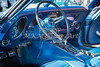 1972 Chevrolet Corvette Stingray Interior Blue 3031.02