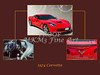 1974 Red Corvette by Chevrolet Collage Print 3514.02