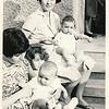 May 1968, with Vali & Maya, Mom & Cristi