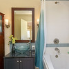 Lake Hodges homes for sale in Escondido California guest bathroom