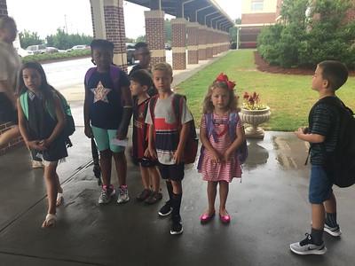 1st Day Of School - Kindergarten (2017-18)