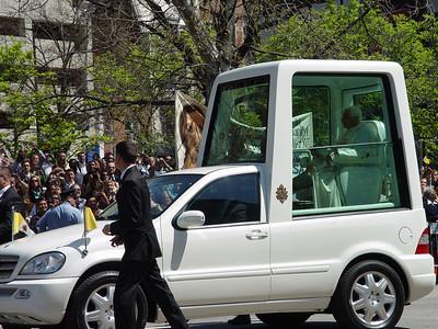 Papal Visit Wed 22