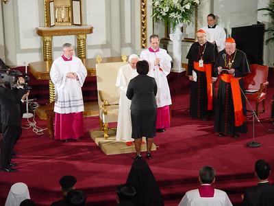 Papal Visit Friday 21