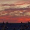 US Open sunset