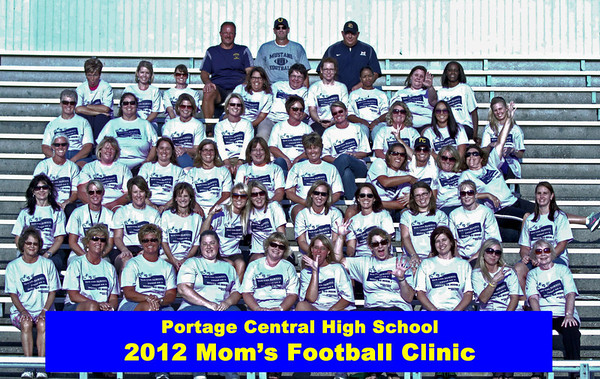 2012 Mom's Football Clinic