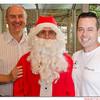 Robert, Santa and Daniel