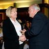 Joyce Hudson receives her 2013 Community Shining Star Award from Henry Bird, publisher of The Herald Bulletin.