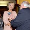 Kandi Floyd receives her 2013 Community Shining Star Award from Henry Bird, publisher of The Herald Bulletin.