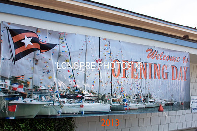 BALBOA YACHT CLUB  'Opening Day' 2013  banner.