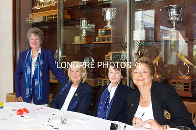 SING IN Ladies: Bev Roberts, Pinky Greene, Audrey Simenz, Marie Marting.