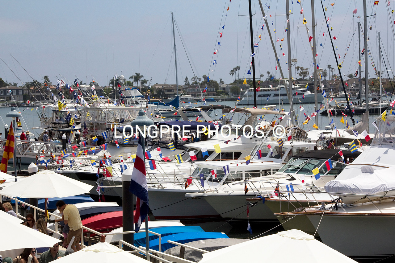 Some of boats on display.