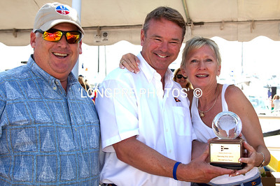 'ADIOS'  2nd Pl. Sail-Racing.  Peter and Kari Bretschger.