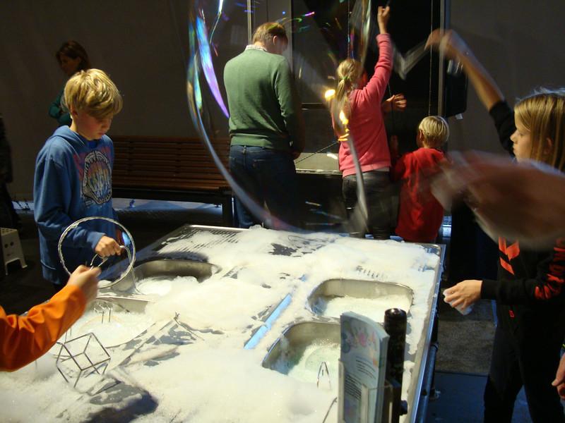 Bubble activities were very popular