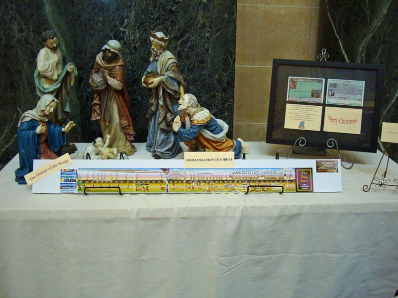 Capitol Christmas Displays - Creationists