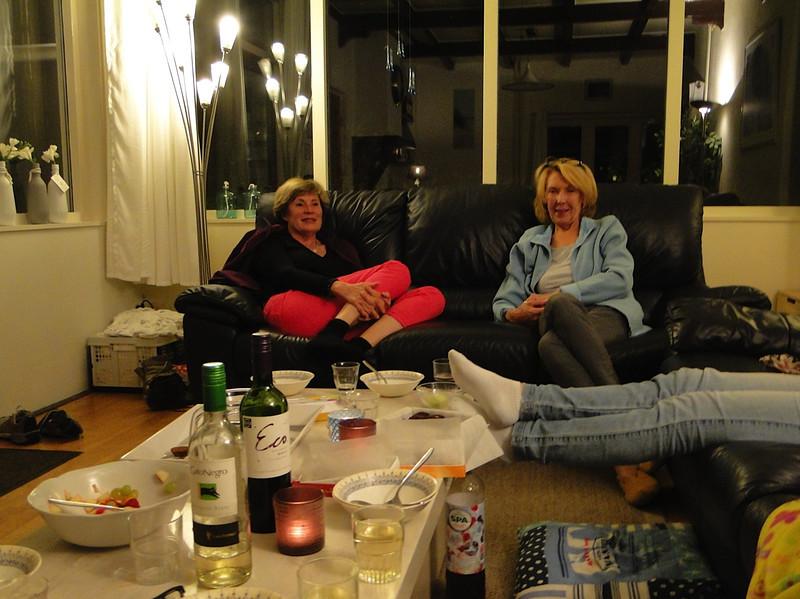 Ameland, eating, drinking talking
