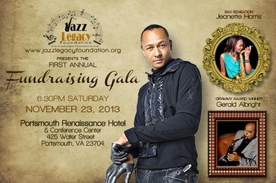 2013 Jazz Legacy Foundation Gala - Frederic Yonnet