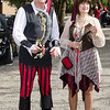 """Rob & Ros Eastwood - great outfits as well as """"best decorated car"""""""