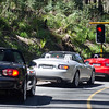 A red light ... on Reefton Spur!